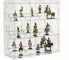 Sora Collectable Figure Display Cabinet With Pedestals Back-panel Reflective