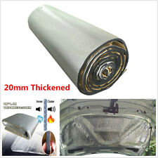 20mm Car Engine Heat Shield Sound-Absorbing Pad Noise Insulation Deadener 1*1.4m