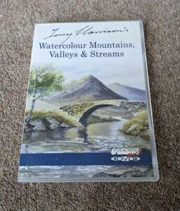 WATERCOLOUR Mountains Valleys Streams Terry Harrison Region Free UK DVD