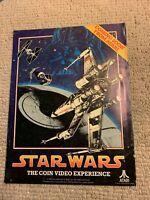 11- 8.5'' Star Wars Atari Journey Coming soon arcade  video game AD FLYER