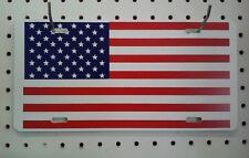 "6"" X 12""  USA FLAG  STYRENE PLASTIC TAG"