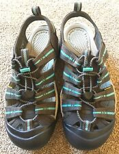 Keen Newport H2 Sandal - Women's Size 8.5 - Raven/Capri - Waterproof- New!