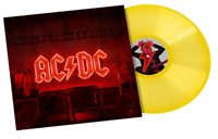 AC/DC - Power up Exclusive Limited Edition Transparent Yellow Vinyl LP PWR UP