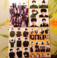 EXO All Members Baekhyun Sehun Kai Luhan Kris Chanyeol Suho 4 Sticker Sheets #F2