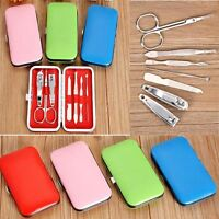 Home Accessories New Nail Cutter Set With Box Nail Care Tool Clippers Scissors