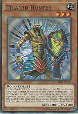 YU-GI-OH CARD: TRIAMID HUNTER - RARE - TDIL-EN028