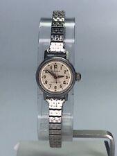 Ladies Bulova Silver Tone Self Winding Automatic Watch Women's