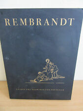 Rembrandt - Thirty two drawings for the bible Collotype Facsimiles 1947 schocken
