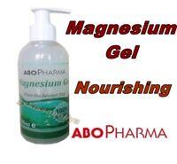 ABO Pharma Natural Magnesium Gel  200 ml - Pump, Zechstein Minerals, Nourishing