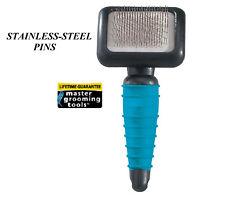 Master Grooming Tools DOG CAT SLICKER BRUSH XS Ergonomic Dematting Coat Hair Mat