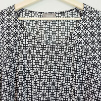 [ SUSSAN ] Womens Geometric Print Top | Size L or 14 - 16 ( oversized )