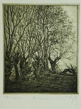 """Welski, Alf (1926-2007) - Radierung """"Kleine Landschaft II"""" 1978 17/100"""