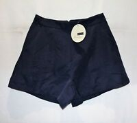 RUMOR Boutique Brand Navy High Waist Shorts Size 8 BNWT #SK34