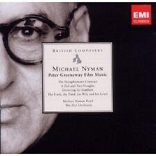 "NYMAN ""NYMAN: GREENAWAY FILM MUSIC"" CD NEW+"