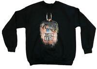 DC Comics Men's Justice League Batman Licensed Sweater Pullover Sweatshirt New