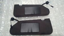 2005 -2013 C6 Corvette Sun Visors Visor Set Left & Right Pair W Vanity New