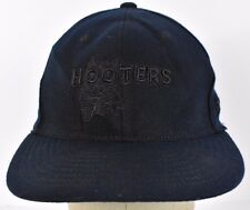 Black Hooters Restaurant company 1983 Owl embroidered baseball hat cap fitted