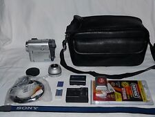 Sony DCR-TRV33 MiniDv Mini Dv HI-FI Stereo Camcorder VCR Player Video Transfer