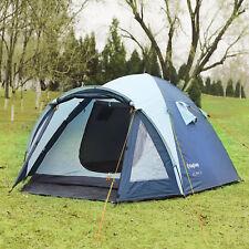 KingCamp 2-3 Person 3-Season Portable Durable Waterproof Dome Tent Camping Hot