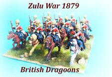Zulu War 1879 - British Dragoons x 3