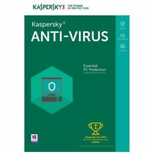 Kaspersky Anti-Virus 2018 1 Year 1 PC USA/Canada, FAST DELIVERY!!