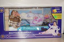 MIB '97 Bedtime SABRINA TEENAGE WITCH Doll LEVITATE BED Melissa Hart EXORCIST