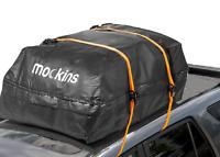 Mockins Travel Waterproof Cargo Roof Bag Car Roof Mat & 2 Ratchet Straps Set SUV