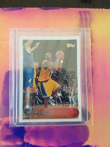 "1996-97 Topps #138 Kobe Bryant  RC ""HOT"" Rookie Card"