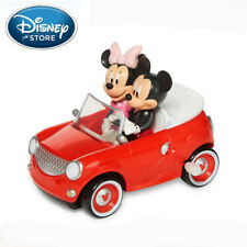 DISNEY MICKEY & MINNIE MOUSE TOY CAR WIND UP w/ SOUND CHILD KIDS BIRTHDAY GIFT