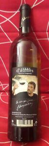 Johnny Hallyday Bouteille de Vin Blanc TERRE D'AUMES - Cuvée 2008 - Parfait Etat