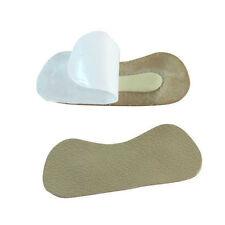 2*talon fixé chaussure Protection moitié cuir durable auto-adhésif pas de souci