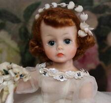 LOVELY MADAME ALEXANDER 1961  Auburn Cissette BRIDE