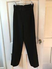 Vintage Tuxedo Pants ~ 80's / 90's ~ Black ~ Pants ~ Fully Lined ~ Nice