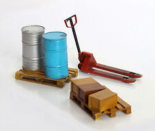 Plus Model Hubwagen Paletten Pallet Truck Diorama Resin Model Kit 1:35 Art 445