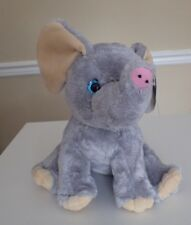 THE BEAR FACTORY Elephant Stuffed Animal Plush From Signature Collection