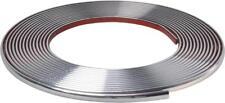 Corpo cromato 128/12mm Porta Paraurti Protezione Moulding Strip MC17/10