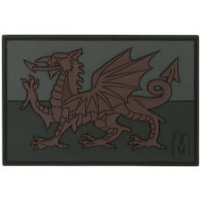 Maxpedition Welsh Flag Morale Patch Wales Dragon 3d Rubber Badge Stealth