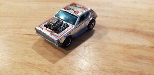 Vintage Hot wheels Chrome Gremlin Grinder dated 1974