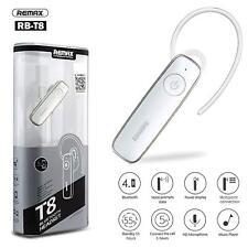 Auricular Bluetooth REMAX-T8 Música Micrófono Manos libres estéreo Universal
