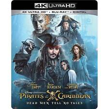 Pirates of the Caribbean: Dead Men Tell No Tales (4K Ultra HD Blu-ray, 2017, 4K