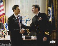 Tony Goldwyn & Scott Foley Dual Signed 'Scandal' 8x10 w/ JSA COA # L51540