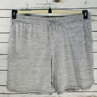 St. John's Bay Womens Short Gray Pockets 2X Stretch Drawstring Activewear New