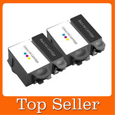 4 Compatible Ink Cartridges ABK10 & ACRL10 for Advent A10 AW10 AWP10
