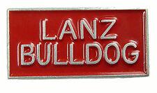 Pin Lanz Bulldog klein Rot Ansteckpin Metall Traktor Trecker Schlepper Kult  #10