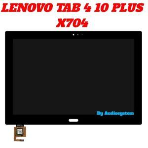 Écran LCD + Écran Tactile Pour LENOVO Tab 4 10 Plus TB-X704L Noir Verre Tablette