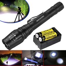 Ultrafire 20000Lumens T6 LED Zoomable 18650 Flashlight Torch Rechargeable Light