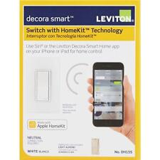 Leviton Decora Smart 15A Rocker Switch With HomeKit Technology R01-DH15S-1RZ