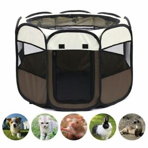 "Outdoor 36"" Dog Kennel Crate Portable Foldable Dog Cage Pet Tent Houses Playpen"