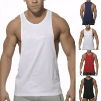 Summer Mens Bodybuilding Tank Top Gym Fitness Singlet Sleeveless Muscle Vests