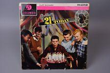 Vinyl Record LP Album: Cliff Richard - 21 Today - Columbia Mono 33SX 1368